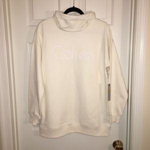Calvin Klein Women's Sweater, Ivory, M